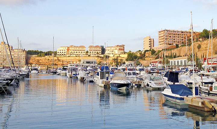 Port Adriano is a marina in south-west Mallorca
